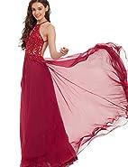 Tdress 2017 Spaghetti Straps A Line Chiffon Prom Dresses