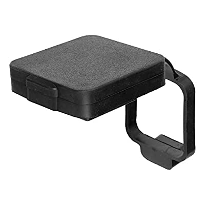 CURT 21728 Rubber Trailer Hitch Cover with 4-Way Flat Wiring Holder, Fits 2-Inch Receiver: Automotive