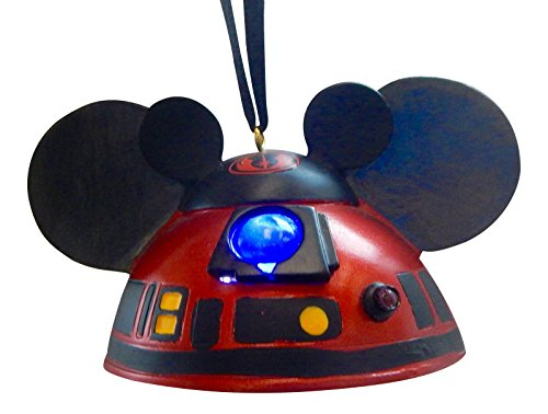 Disney Parks Star Wars R2D2 Ears Hat Light Up Ornament (R2d2 Hat)