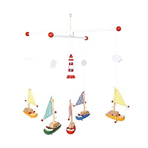 Baby Sailboat Mobile