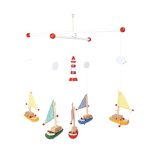 Nursery Mobiles Legler Sailboat and Lighthouse Mobile by Legler