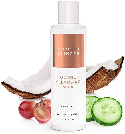 Georgette Klinger Coconut Facial Cleansing Milk Sulfate Free Daily Face Cleanser for All Skin Types
