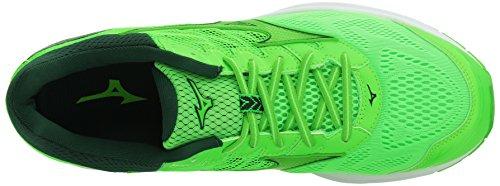 Mizuno Herren Wave Rider 21 Laufschuh Grüner Schleim - grüner Gecko