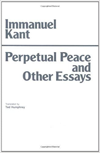Checking Essay For Plagiarism By Immanuel Kant  Perpetual Peace And Other Essays On Politics History  And Morals A Philosophical Essay Hpc Classics Series New Ed    Does Prison Work Essay also Who Am I Essay Examples By Immanuel Kant  Perpetual Peace And Other Essays On Politics  Easy Way To Write An Essay