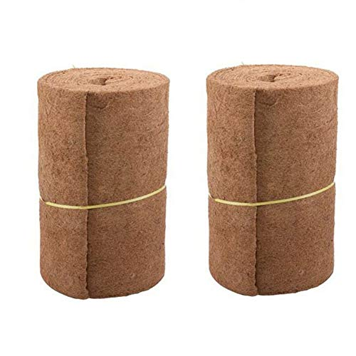 (Coco Liner Bulk Roll,Natural Coconut Liner Coco Fiber Replacement Liners for Hanging Basket Wall)