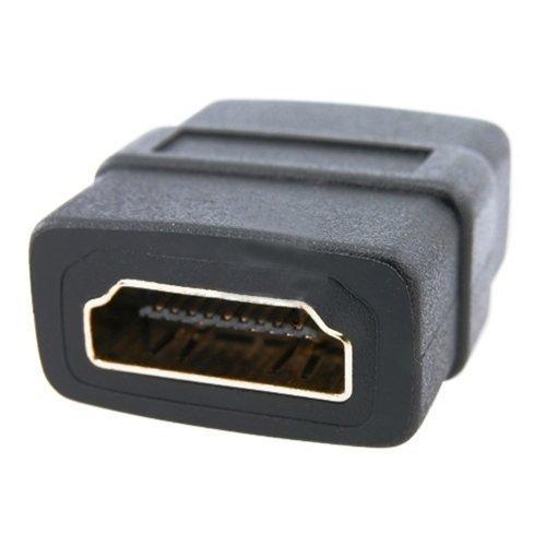 TOOGOO (R) HDMI Femmina a HDMI Femmina F / F Oro Adattatore accoppiatore Nuovo 008140