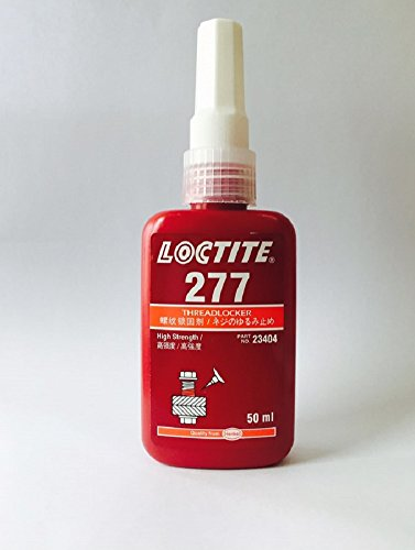 Loctite 277 Threadlocker - Red Liquid 1.69oz Bottle