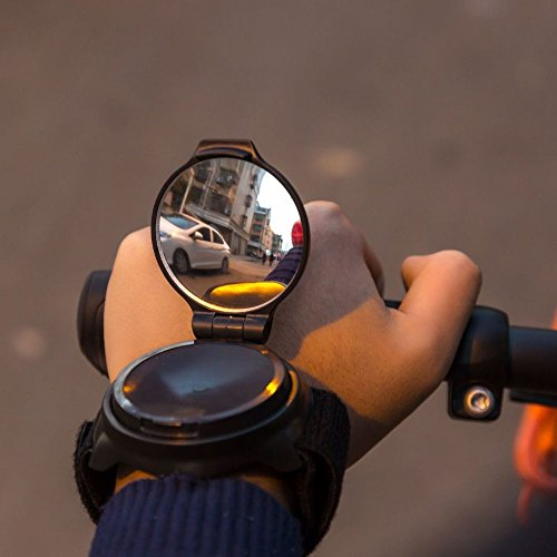 KANGBUKE Bike Mirror, Wrist Mirror Bike Rear View Mirror Collapsible 360 Degree Adjustable Bicycle with Elastic Armband Portable Biking Accessories for Cyclists Mountain Road Bike Riding Cycling by KANGBUKE (Image #2)