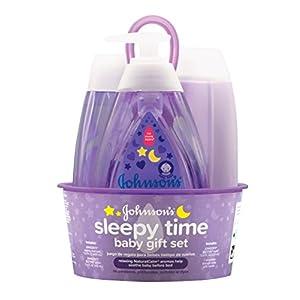 Johnson's Tiny Traveler Baby Gift Set, Baby Bath and...