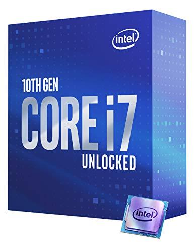 Intel Core I7 10700k Procesador De Sobremesa 8 Nucleos Hasta 51 Ghz Desbloqueado Lga1200 Intel 400 Series Chipset 125w Bx8070110700k
