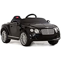 Bentley Continental GT Speed Convertible Ride On Car(Black)