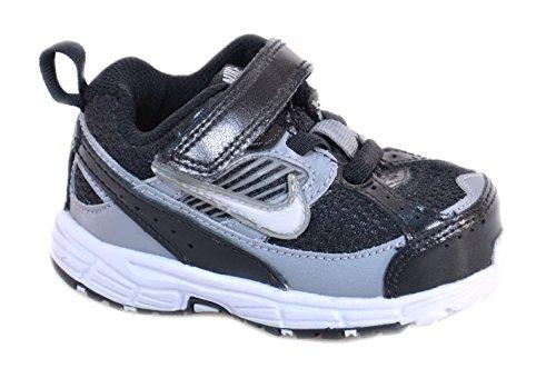 Nike - Nike Dart 8 (TD) Kinderschuhe Schwarz Leder und Textil 395827 Schwarz