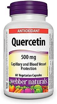 Webber Naturals Quercetin, Vegetarian Capsule, 500 mg, 60 Count