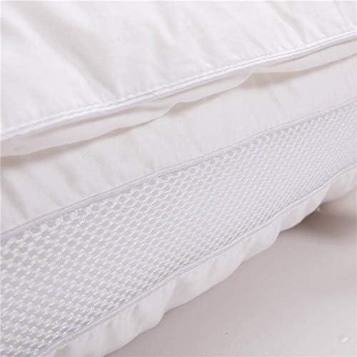 DJP Oreiller, Anti-Acariens Antibactérien/Soie/Coton/Confortable/Japon/Un 48X74Cm
