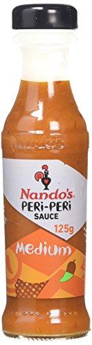 Nando's Medium PERi-PERi Sauce - Gluten Free | Non GMO | 4.7 Oz (2 Pack)