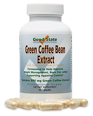 Good State - Green coffee bean extract - 800 mg - 60 veggie capsules