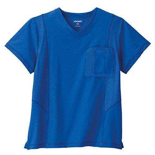 Performance RX by Jockey Men's Mesh Tech Scrub Top -Royal Blue. X-Large ()