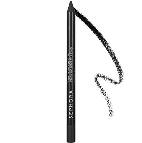 SEPHORA COLLECTION Contour Eye Pencil 12hr Wear Waterproof 0.04 Oz 01 Black Lace - Black