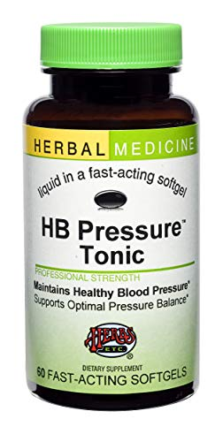 HB Pressure Tonic Herbs Etc 60 Softgel