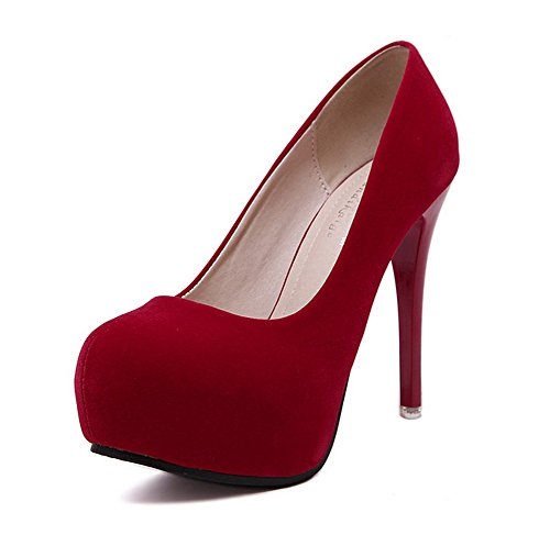 1to9 donna 1to9mmsg00225 con Sandali rosso zeppa ar8a6g