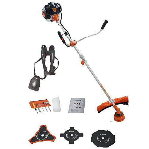 TIMBERPRO 52cc Heavy Duty Split Strimmer and Brush Cutter wi