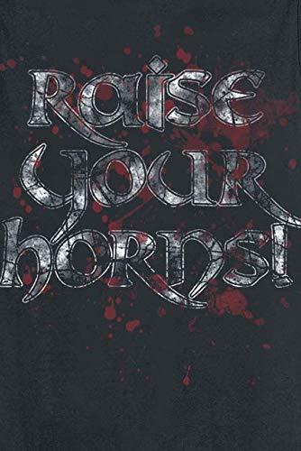 Amon Amarth Raise Your Horns Top Tirante Ancho Negro