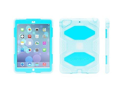 Griffin Clear/Blue Survivor All-Terrain Case + Standfor iPad