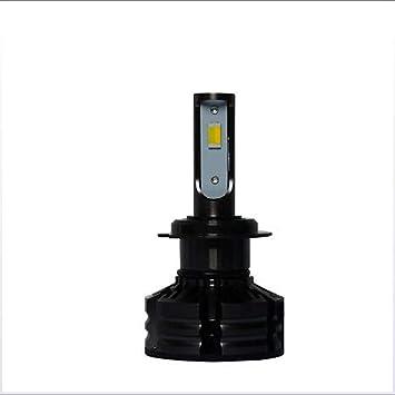 Kit de faros LED, luz de cruce de tres colores ajustable/automática/reemplazo