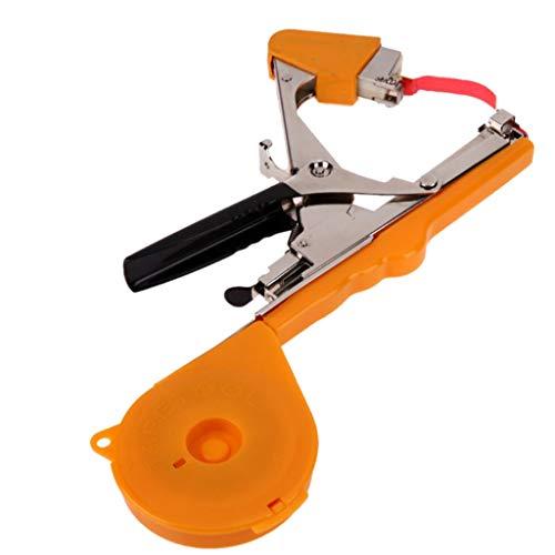 (NszzJixo9 Vine Tying Machine,Automatic Steel Bar Rod Tying Tools -Vineyard Tool Garden Vine Tying Tape Plant Tying Machine for Vegetable, Grape, Tomato,Cucumber, Pepper and Flower)