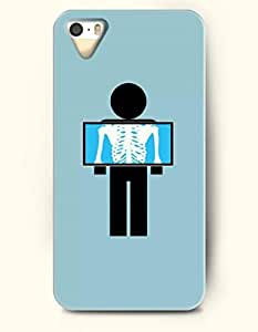 OOFIT Phone Case design with X-ray for Apple iPhone 5 5s 5g