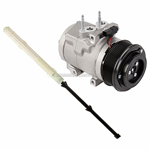 (OEM AC Compressor w/A/C Drier For Ford F250 F350 F450 6.7L PowerStroke Diesel - BuyAutoParts 60-85428R4 New)