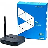 Minix Neo Z64-W10 Windows 10 edition TV Box, Mini-PC, Media Hub with HD Graphics (Black)