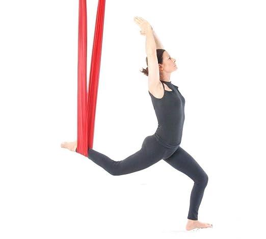 NFNFUNNM Hamaca De Yoga Aérea Estudio De Yoga En Casa con ...