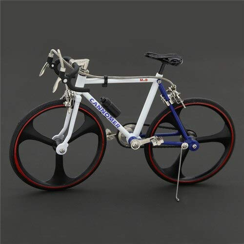 Greensun 1/10 Metal Simulation Bicycle Bike Cycling Model Road Bicycle Toy by GreenSun