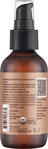 PURA-DOR-Organic-Rosehip-Seed-Oil-100-Pure-Cold-Pressed-USDA-Organic-Anti-Aging-For-Face-Hair-Skin-Nails-4-Fluid-Ounce