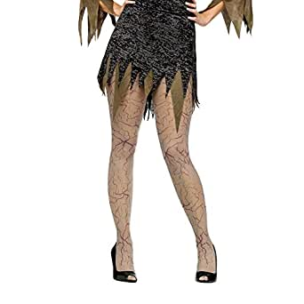 Zombie Veins Tights (Adult) Accessory Size One-size