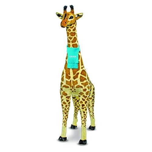 Melissa Doug Personalized Giant Giraffe Lifelike Stuffed Animal
