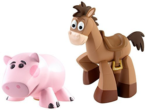 Disney Pixar Toy Story 20th Anniversary buddy pack figure 2 pack ham & bullseye Disney / Pixar Toy Story 20th Anniversary Dr. Pork Chop and Bullseye Figure Buddy 2-Pack [parallel import]