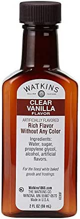 Watkins Imitation Clear Vanilla