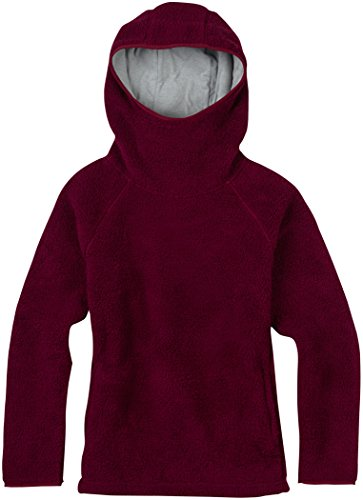 Burton Women's Lynx Pullover Fleece, Sangria, Medium
