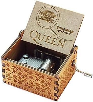 Evelure Caja de música de Madera de Queen, Cajas de música de ...
