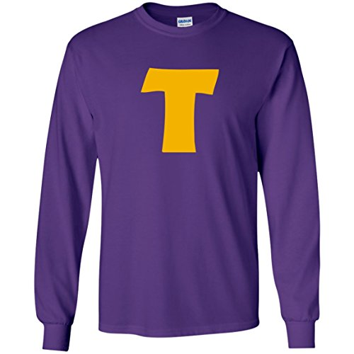 (Token's Purple 'T' Long Sleeve)