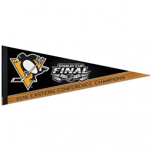 Pittsburgh Penguins NHL 2016 Eastern Conference Champions Stanley Cup Pennant