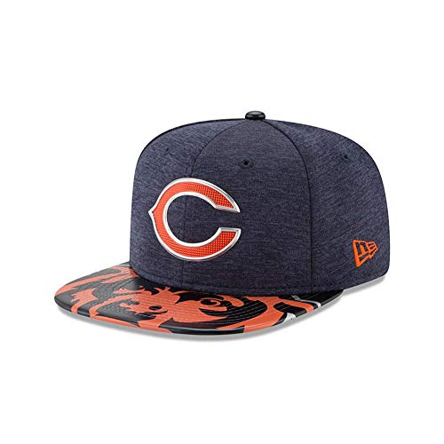 NFL Chicago Bears 2017 Draft On Stage Youth 9Fifty Snapback Cap, Youth, Navy