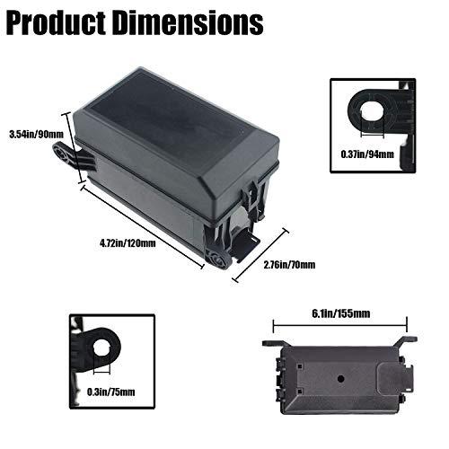 Kaifa 12-Slot Relay Box 6 Relays 6 ATC/ATO Fuses Holder ... on