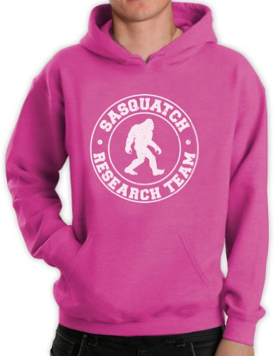 Green Turtle - SASQUATCH RESEARCH TEAM Pink XX-Large Hoodie