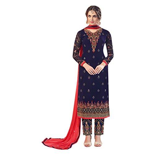 suit pant ETHNIC 2698 casual straight designer abito pakistano salwar kameez vestito designer donne EMPORIUM indiano AAIwqFax
