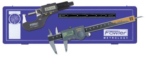 Fowler 54-004-854 Water Resistant Electronic Measuring Set, 0-1