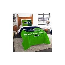 Seattle Seahawks Twin Comforter Set Standard