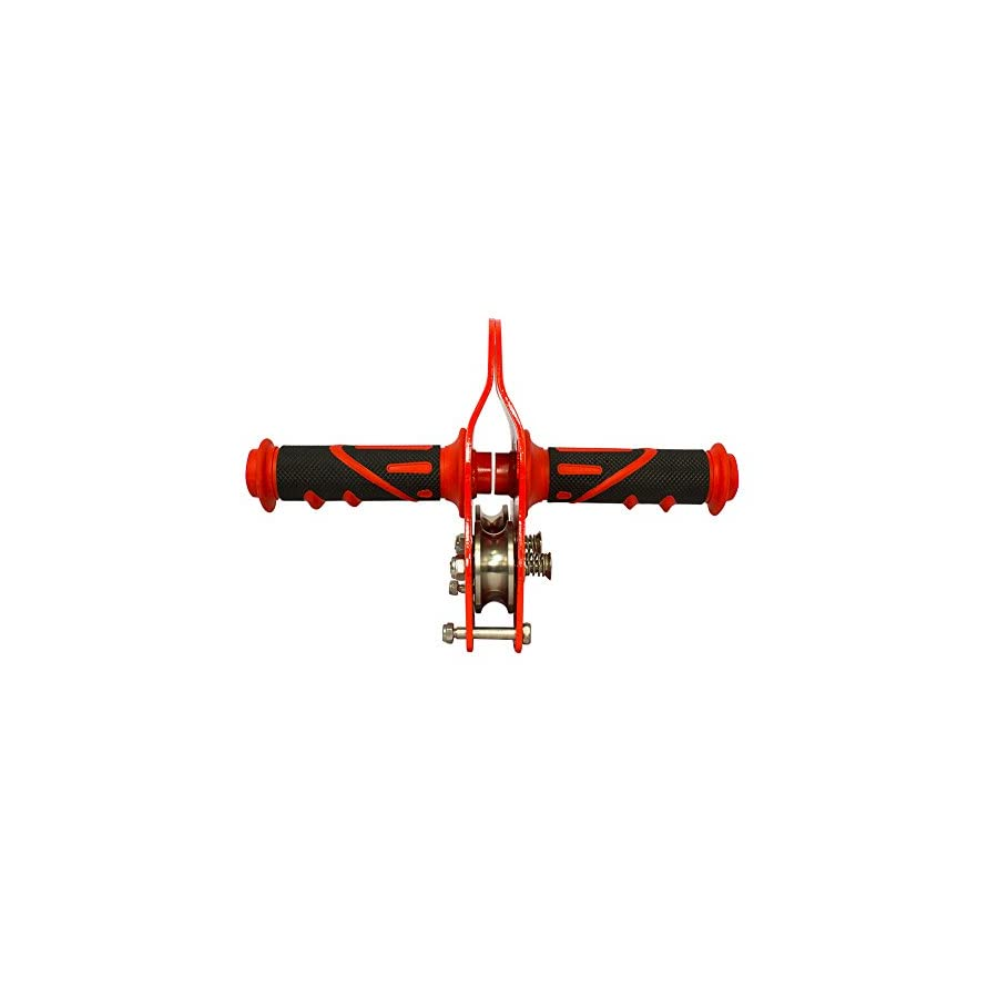 Fusion Climb Z Max Speed Stainless Steel Pulley Grip Red Trolley